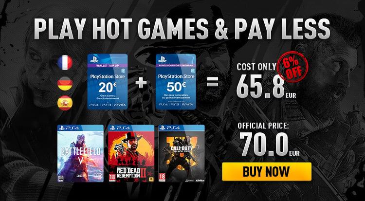 Digital Games Prepaids Cards The Best Game Key Deals At IGVault